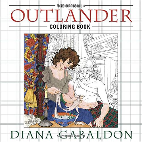 The Official Outlander Coloring Book Get It On Amazon