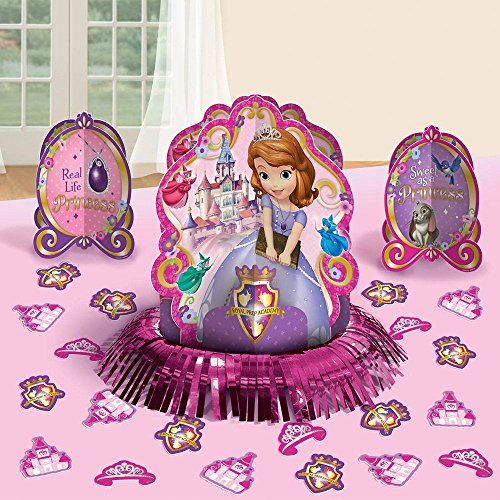 Sofia the First Table Decorating Kit 23 Pc. - 1