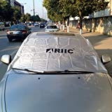 Ariic® New Water-repellent Waterproof Magnetic Auto Car snow ice dust Windshield Cover storage bag