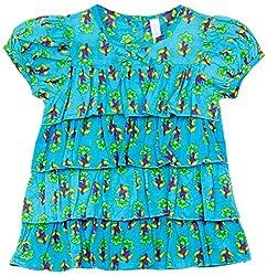 Snuggles Girls Layered Dress - Blue (18-24M)