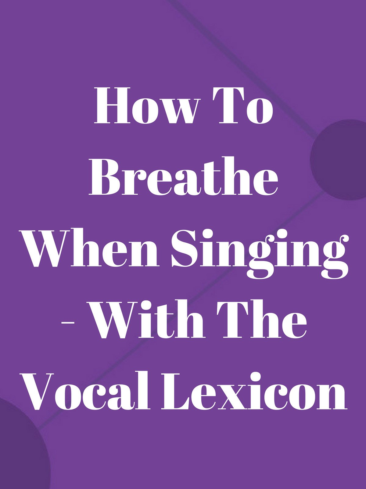 How To Breathe When Singing on Amazon Prime Video UK