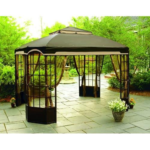 Gazebos Garden Oasis Gazebo Replacement Canopy