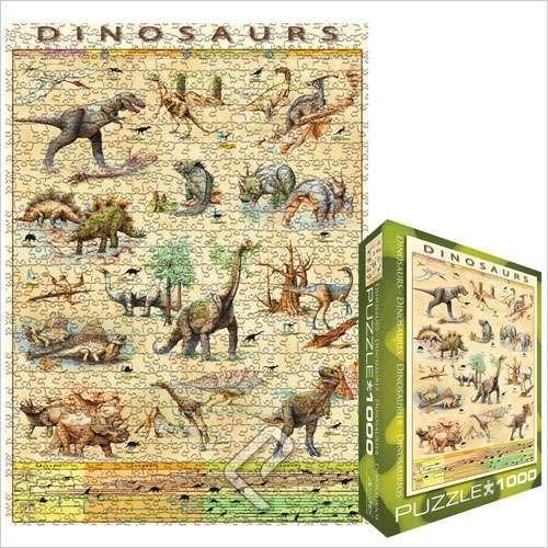 Cheap Eurographics Dinosaurs Jigsaw Puzzle 1000pc (B001AUIMCM)