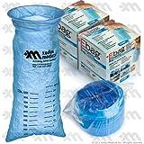 Blue Emesis Bag 40 Oz. (1000ml) 24 Per Case