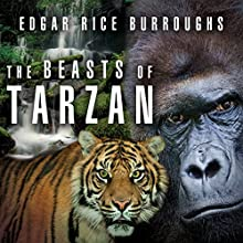 The Beasts of Tarzan Audiobook by Edgar Rice Burroughs Narrated by Jeff Harding