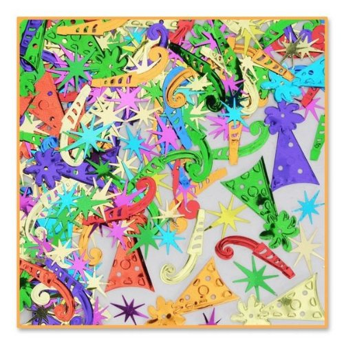 Beistle CN140 Party Fun Confetti, 1/2-Ounce