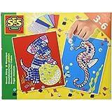 SES Deutschland 14814 - Mosaiksteinchen kleben Hund/Seepferdchen