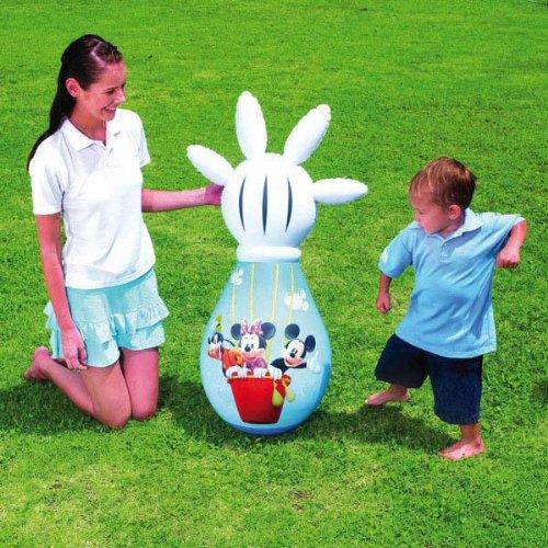 BESTWAY Kinder Boxsack (Disney Mickey Mouse) / Box Sack / Stehauf
