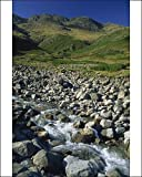 Photographic Print of Oxendale Beck below Crinkle Crags, Lake District National Park, Cumbria from Robert Harding