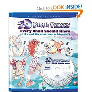 20 Bible Verses Every Child Should Know (Heritage Builders (Standard)) Standard Publishing