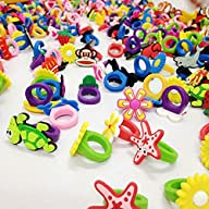 50 Rubber Rings for Children – Party Favors / Giveaways