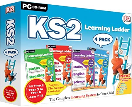 Learning Ladder KS2 Four Pack - Includes Years 3, 4, 5 & 6 (PC)