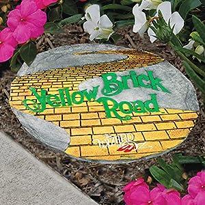 The Wizard Of Oz Yellow Brick Road Decorative Stepping Stone Garden D Cor Patio