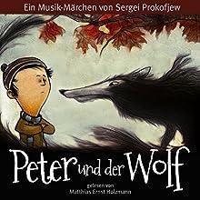 Peter und der Wolf (       ungekürzt) von Sergej Prokofjew Gesprochen von: Matthias Ernst Holzmann