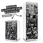 Kühlschrank- & Geschirrspüler-Aufkleber --- New York --- Dekor Folie Klebefolie Front Sticker