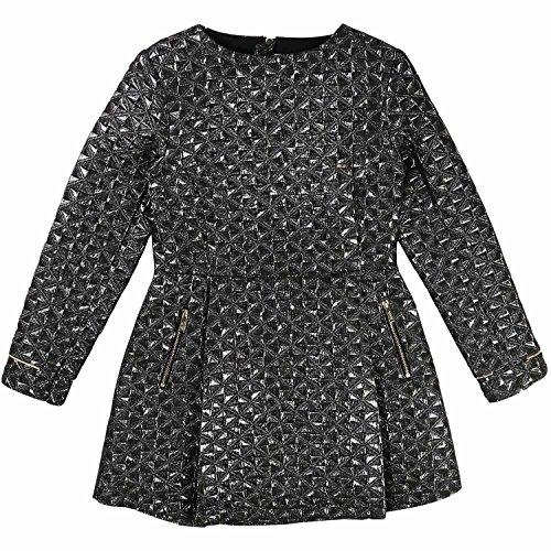 karl-lagerfeld-robe-fille-noir-158-164-cm