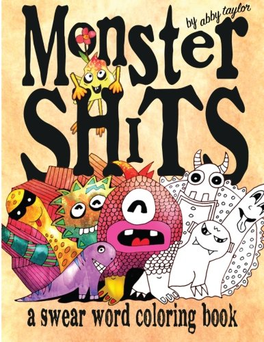 Cheapest Copy Of Monster Shits A Swear Word Adult