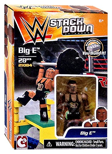 WWE Wrestling C3 Construction StackDown Big E Playset #21083 - 1