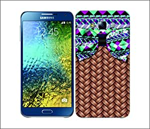 Galaxy Printed 1741 Chick Wicker aztec Hard Cover for samsung GRAND 2