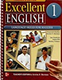 img - for Excellent English 1 Teacher's Edition with Tests book / textbook / text book