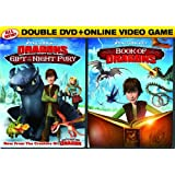 DreamWorks Dragons Double Pack: Gift of the Night Fury / Book of Dragons (Two-Disc DVD Pack + Online Video Game)