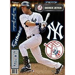New York Yankees Derek Jeter Fathead Teammate Case Pack 6