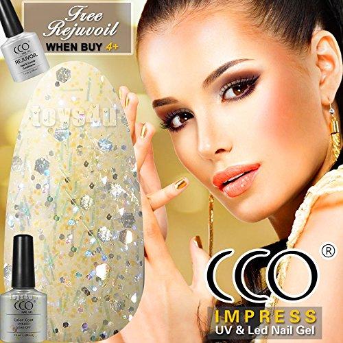 new-official-cco-2016-shining-glitter-diamond-range-colors-uv-led-nail-gel-polish-professional-soak-