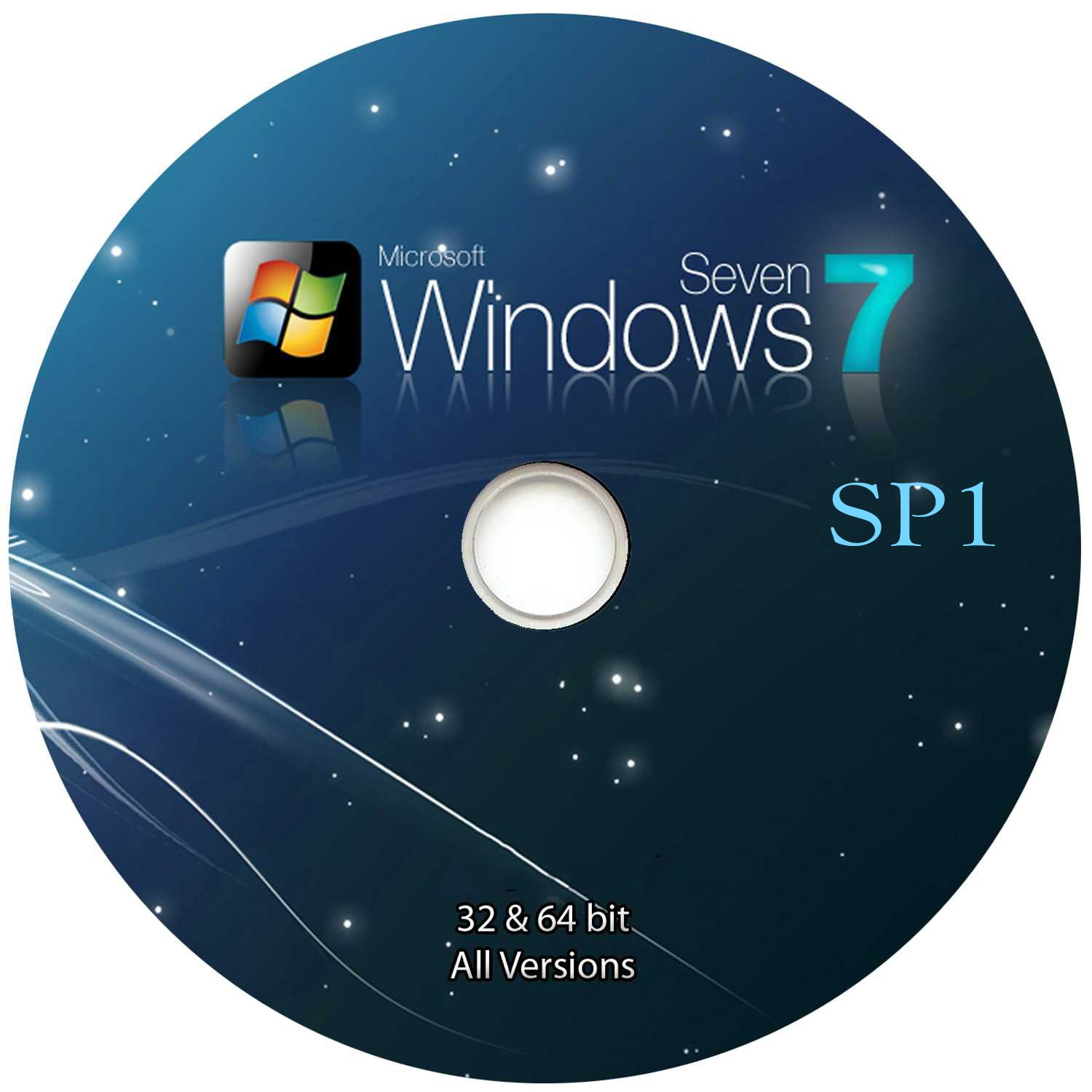 WINDOWS 7 32/64 BIT all-in-one PRE-ACTIVATED NO CODES NEEDED