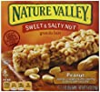 Nature Valley Sweet & Salty Nut Granola Bars, Peanut, 6 - 1.2 Ounce Bars (Pack of 12)