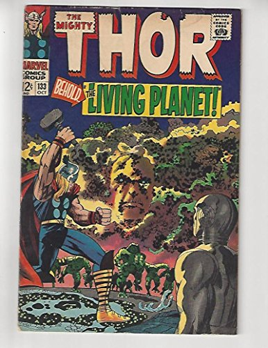 The Mighty Thor #133/Marvel Comic Book/1st Full Ego/Rare Double Cover (Marvel Ego compare prices)