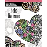 Art Zone Adult Coloring Book Boho