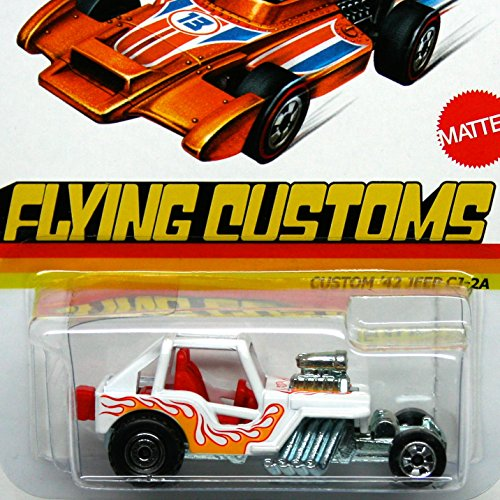Hot Wheels Flying Customs Custom 1942 Jeep CJ-2A - 1
