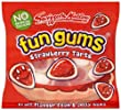Swizzels Matlow Mini Fun Gum Bag Strawberry Tarts (1 x 60)