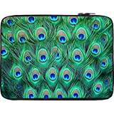 Snoogg Peacock Pattern 2 13 To 13.6 Inch Laptop Netbook Notebook Slipcase Sleeve
