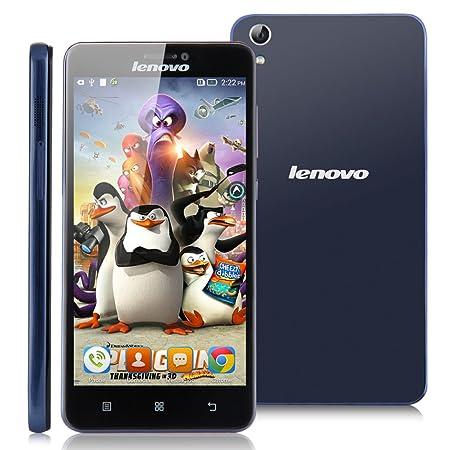 LENOVO S850 2G/3G Smartphone 5,0 Pouce HD Grande Ecran Google Android 4.2 1Go RAM+16Go ROM mémoire MTK6582 1,3GHz CPU 13.0 mégapixel caméra Dual SIM WIFI GPS Bluetooth FM portable résolution 1280x720 mégapixel -Bleu- pou