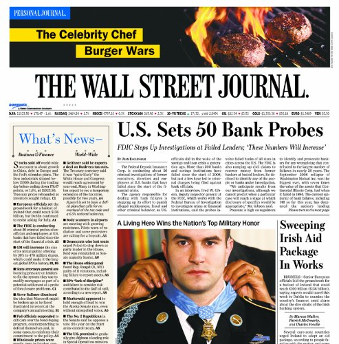 The Wall Street Journal (6-month subscription)