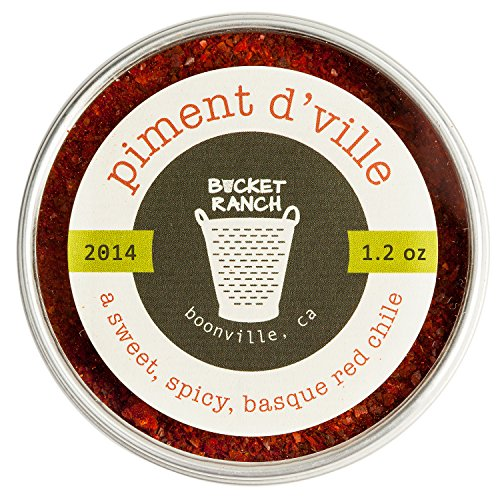 Piment d'Ville - Red Chili Pepper Powder from