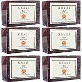 Khadi Mauri Oat Soaps Pack of 6 Ayurvedic Herbal Natural