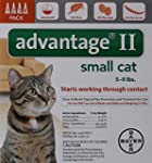 Bayer Advantage II, Small Cat, 5 to 9...