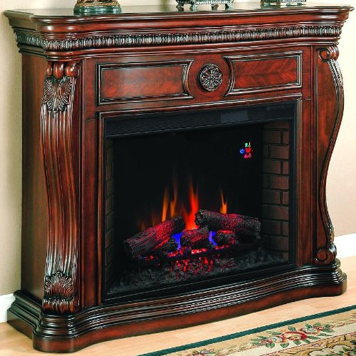 Lexington 55-inch Electric Fireplace - Empire Cherry - 33wm881