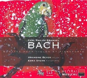 C.P.E. Bach : Sonates pour violon et pianoforte