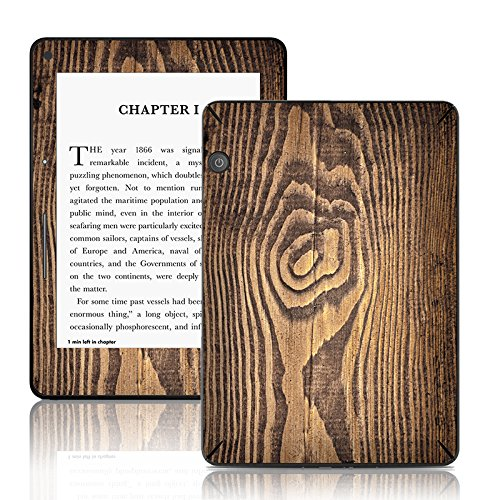 TaylorHe Autocollants pour Kindle Voyage vinyle adhésif Colourful Skins with Patterns motif de bois