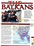 The Balkans: National Geographic Map