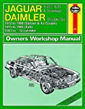Jaguar XJ12 XJS Sovereign Repair Manual Haynes Manual Service Manual Workshop Manual 1972-1988