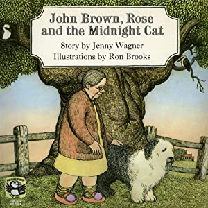 John Brown, Rose, and the Midnight Cat Audiobook