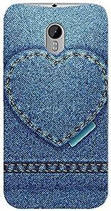 Kasemantra Engraved heart Case For Motorola Moto G3