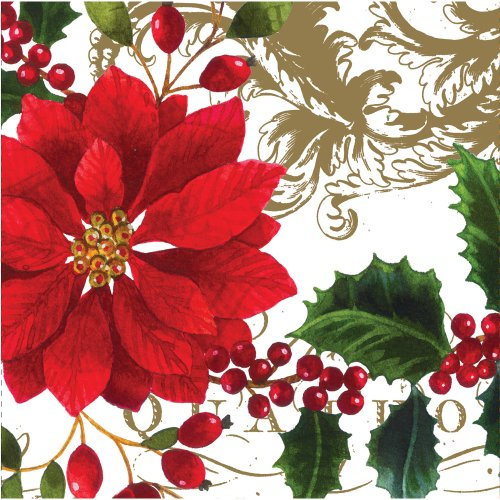 Creative Converting 18 Count Painted Petals Lunch Napkins