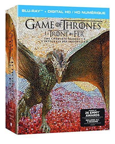 Game of Thrones: Season 1-6 Gift Set (Billingual) [Blu-ray]