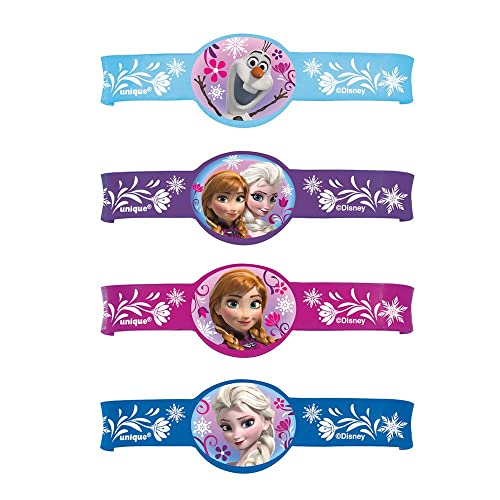 Disney Frozen Rubber Bracelets 4ct