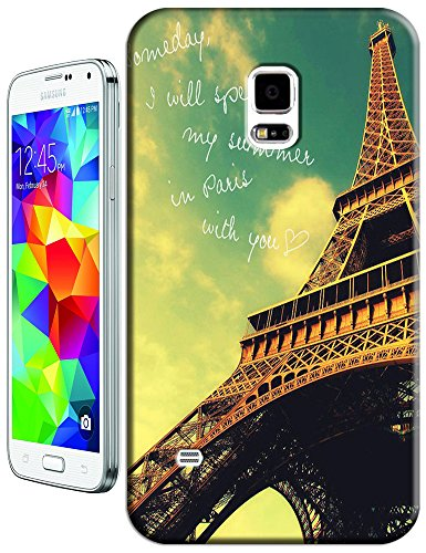 Beautiful Eiffel Tower Paris Fashion Cell Phone Cases Design For Samsung Galaxy S5 I9600 No.2